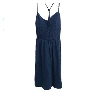 American Eagle lace bodice summer mini dress